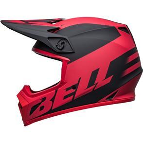 BELL MOTO HELMETS 2022 MX-9 MIPS DISRUPT BLACK/RED